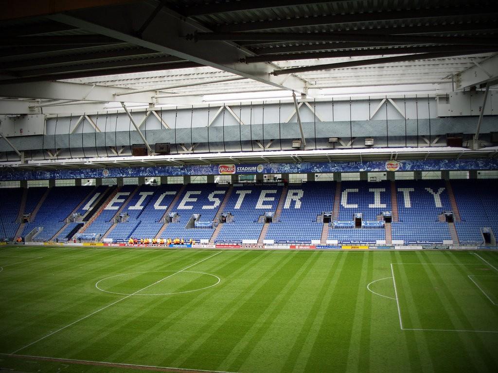 Le terrain de Leicester City