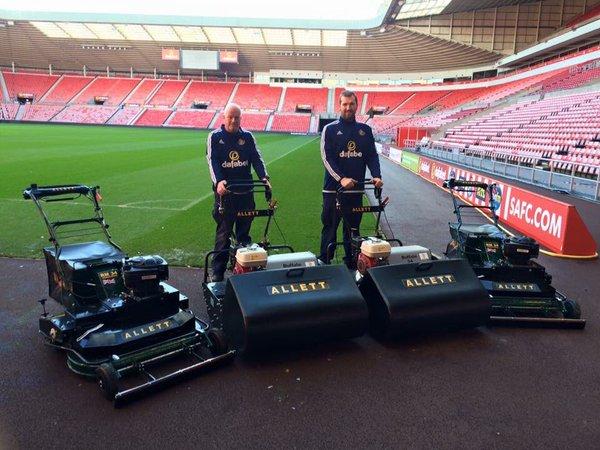 Sunderland FC - Tondeuses hélicoïdales