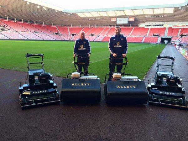 Sunderland FC - Tondeuses ALLETT